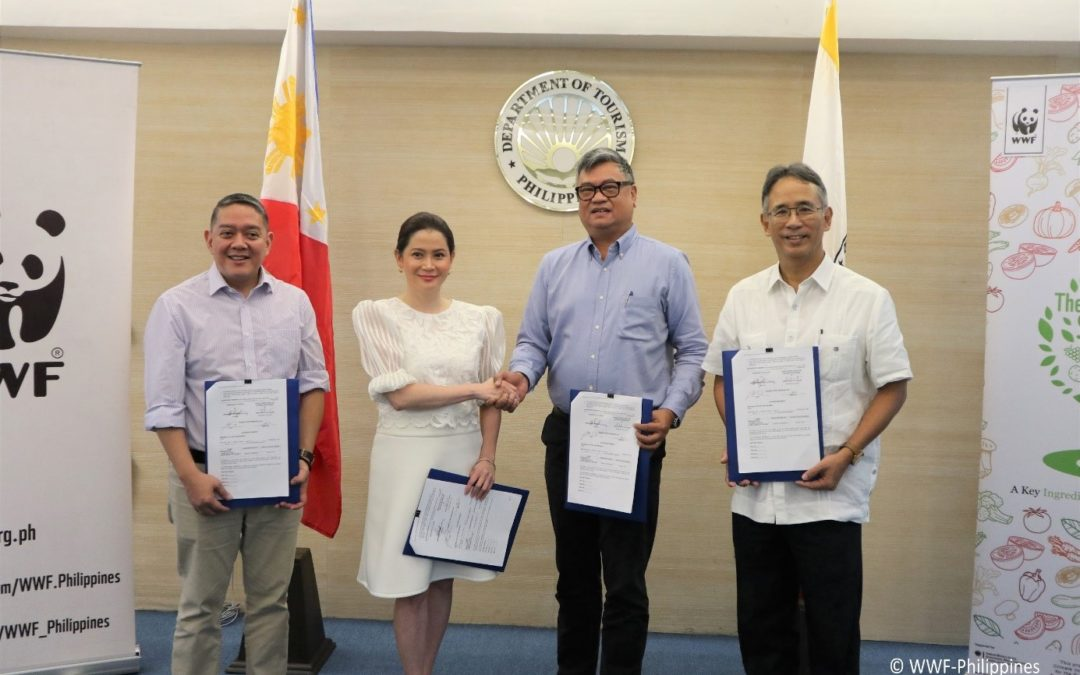 WWF and the Department of Tourism together for Sustainable Tourism in the Philippines