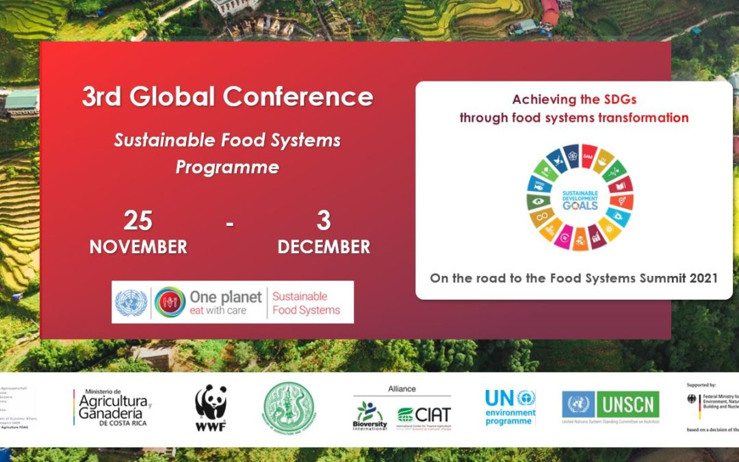 Third Global Conference of the Sustainable Food Systems Programme